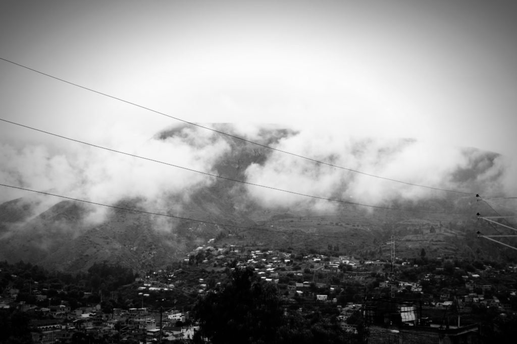 Rainy day in Ayacucho