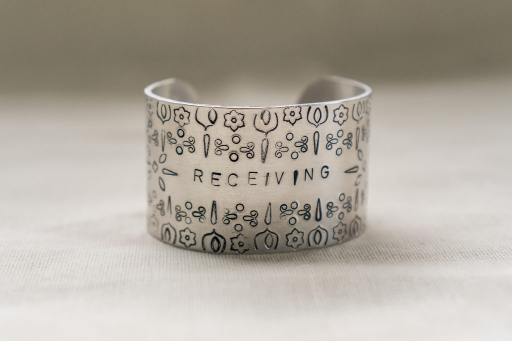 Receiving Bracelet Sample