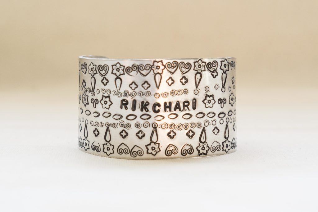 Rikchari cuff by Elizabeth